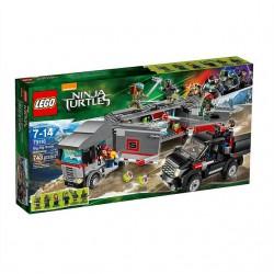 LEGO TURTLES 79116 Śnieżna Ucieczka Ciężarówką
