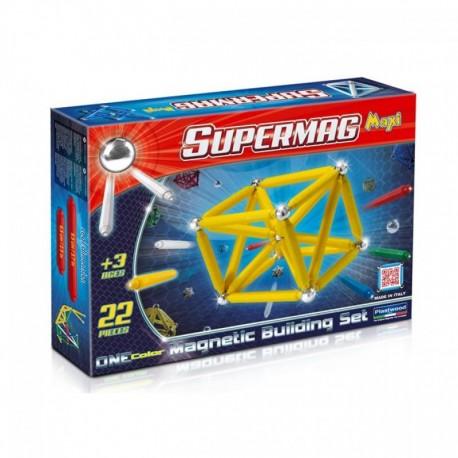 SUPERMAG MAXI Magnetyczne Klocki Konstrukcyjne 66 Elementów 0123