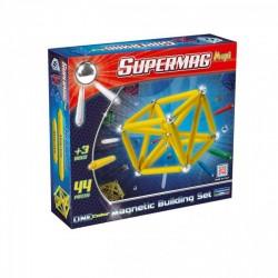 SUPERMAG MAXI Magnetyczne Klocki Konstrukcyjne 44 Elementy 0122