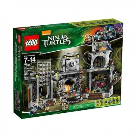 LEGO TURTLES 79117 Inwazja na Kryjówkę Żółwi