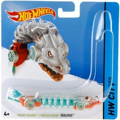 Mattel - BBY84 - HW City - Hot Wheels Mutant - Skullface