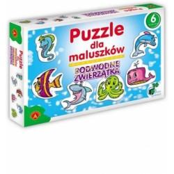 ALEXANDER Puzzle dla Maluszków PODWODNE ZWIERZĄTKA 5363