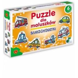 ALEXANDER Puzzle dla Maluszków SAMOCHODZIKI 5370