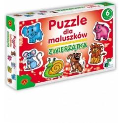ALEXANDER Puzzle dla Maluszków ZWIERZĄTKA 5356