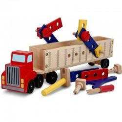 MELISSA & DOUG Drewniana Ciężarówka dla Majsterkowicza 12758