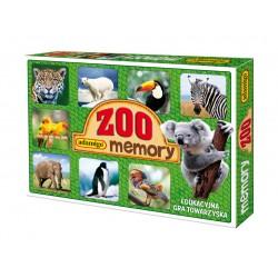 ADAMIGO Gra Memory Prawdziwe Zwierzęta - MEMO ZOO 3051