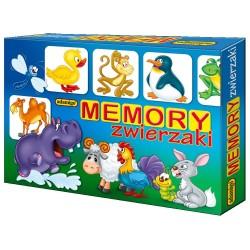 ADAMIGO 5697 - Gra Memory Zwierzęta - MEMO ZWIERZAKI