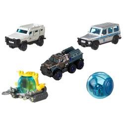JURASSIC WORLD Zestaw Pojazdów 5 szt. ISLAND TRANSPORT TEAM Mattel FMY24 FMX40