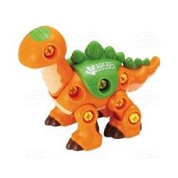 Dumel Discovery - DD43527 - Rozkręcany Dino - Pomarańczowy