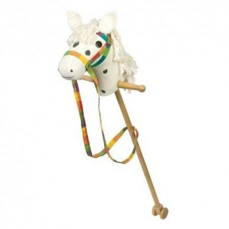 Goki - 53940 - Koń na Kiju - Biały