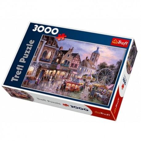 Trefl - 33033 - Puzzle 3000 - Wesołe Miasteczko