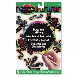 MELISSA & DOUG Robaki do Zdrapywania SCRATCH ART 15825