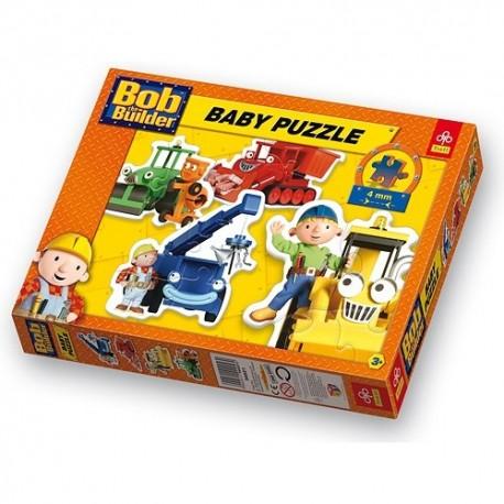 Trefl - 36021- Puzzle Baby - Bob Budowniczy