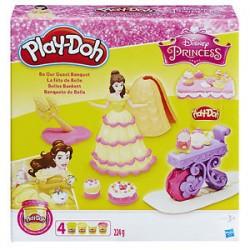 PLAY-DOH Zestaw Ciastolina Disney Princess KOPCIUSZEK C1045 HasbroPLAY-DOH Zestaw Ciastolina Disney Princess BELLA NA BALU B9406