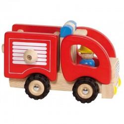 GOKI Drewniany Pojazd STRAŻ POŻARNA 55927