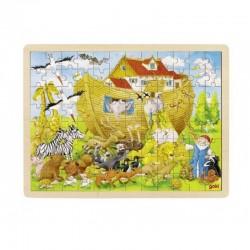 GOKI Drewniane Puzzle ARKA NOEGO 57535