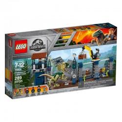 LEGO JURASSIC WORLD 75931 Atak Dilofozaura na Posterunek