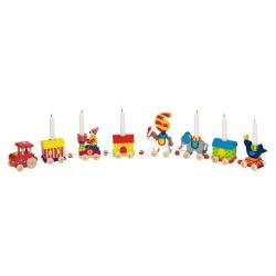 Goki - 60919 - Drewniany Pociąg Urodzinowy