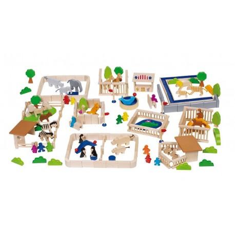 Goki - 58936 - Drewniane Zoo