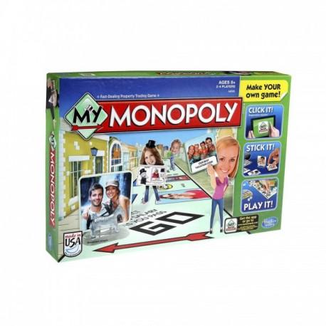 Hasbro - A8595 - Gra Planszowa - My Monopoly - Od Zera do Milionera