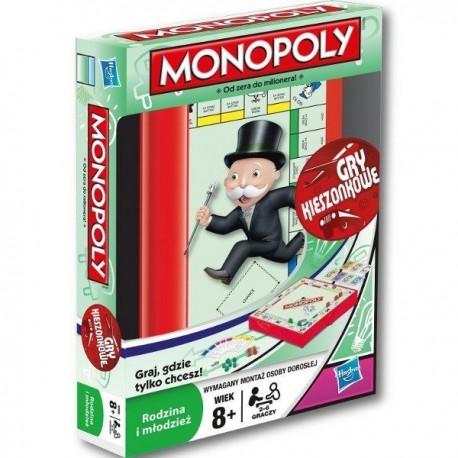 Hasbro - 29188 - Gra Logiczna - Monopoly - Od Zera do Milionera - Gra Kieszonkowa