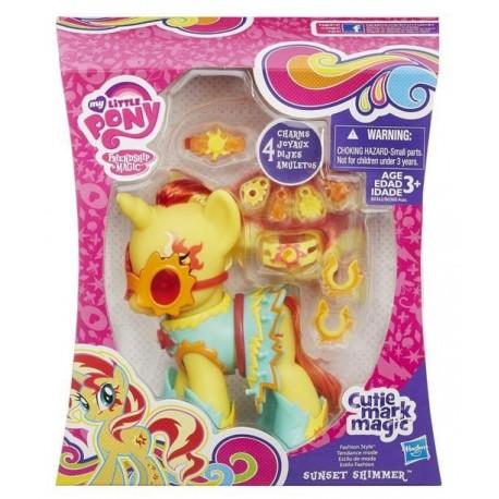 Hasbro - B0362 - My Little Pony - Cutie Mark Magic - Fashion style - Sunset Shimmer