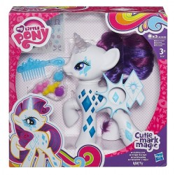Hasbro - B0367 - My Little Pony - Cutie Mark Magic - Świecąca Rarity