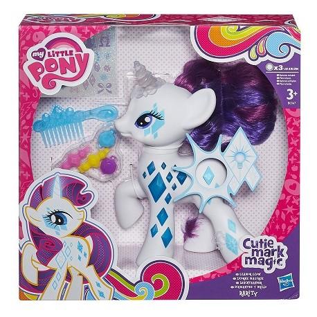 Hasbro - B0367 - My Little Pony - Cutie Mark Magic - Świecąca Rarity