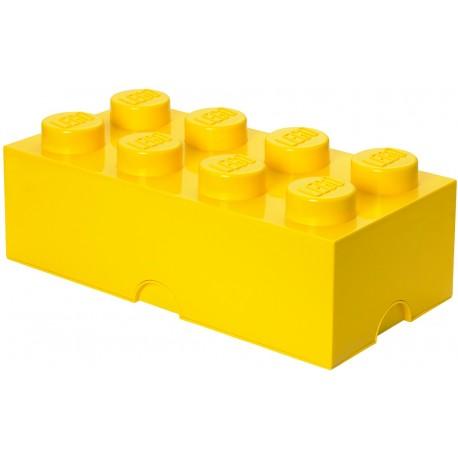 LEGO Pojemnik 8 na Zabawki Żółty 0423