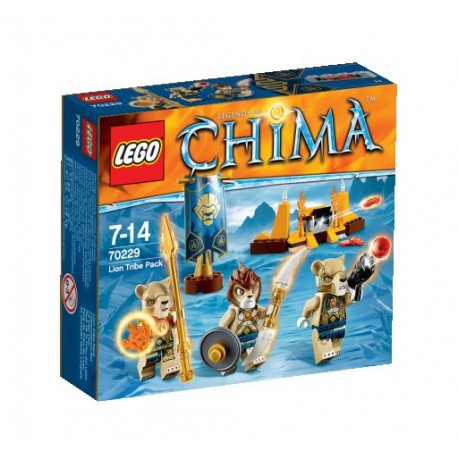 LEGO CHIMA 70229 Plemię Lwów NOWOŚĆ 2015