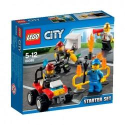 LEGO CITY 60088 Straż Pożarna - Strażacy - Zestaw Startowy NOWOŚĆ 2015