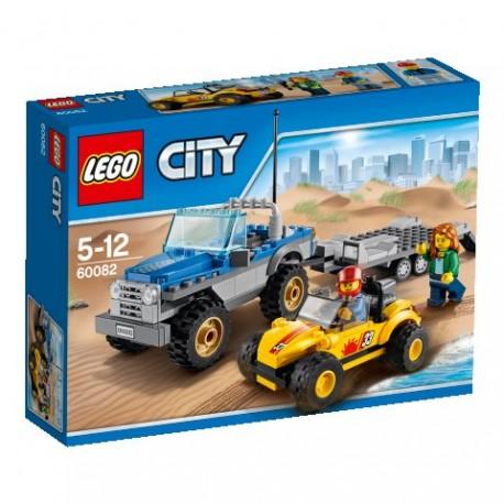 LEGO CITY 60082 Superpojazdy - Mała terenówka z przyczepką NOWOŚĆ 2015