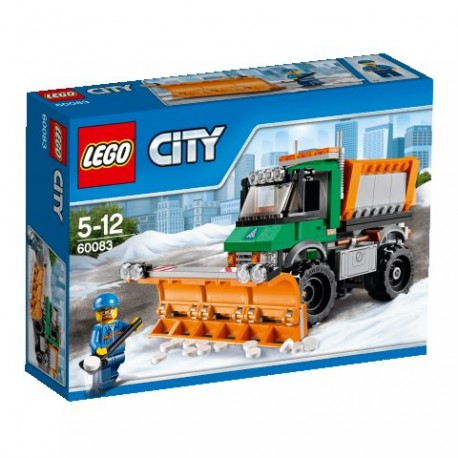 LEGO CITY 60083 Superpojazdy - Pług Śnieżny NOWOŚĆ 2015