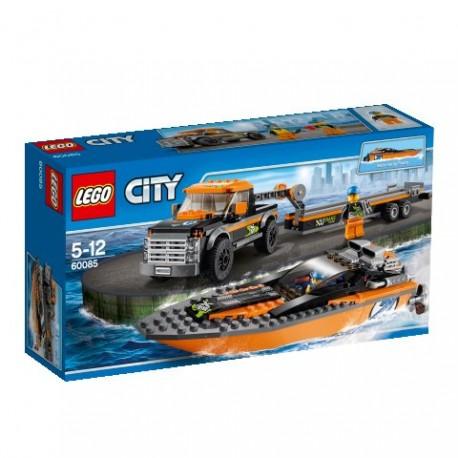 LEGO CITY 60085 Superpojazdy - Terenówka z Motorówką NOWOŚĆ 2015