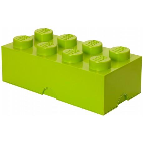 LEGO Pojemnik 8 na Zabawki Limonka 0408