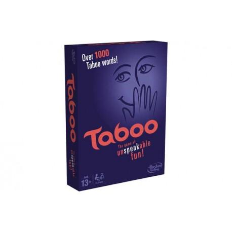 HASBRO A4626 - Towarzyska Gra Niewypowiedzianych Słów - TABOO Wersja UK