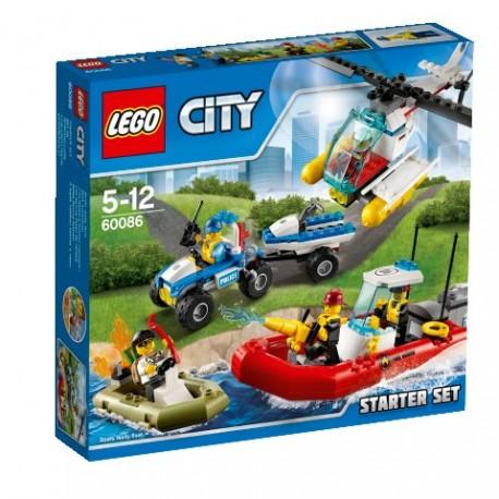 LEGO CITY 60086 Miasto - Zestaw Startowy NOWOŚĆ 2015