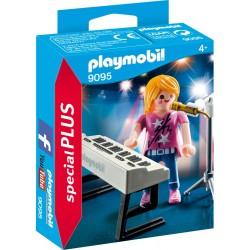 PLAYMOBIL 9095 Special Plus Piosenkarka z Keybordem