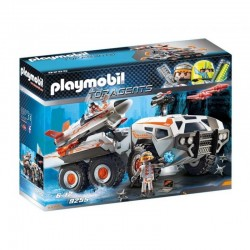 PLAYMOBIL 9255 TOP AGENTS Wehikuł Bojowy Spy Team