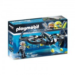 PLAYMOBIL 9253 TOP AGENTS Mega Dron
