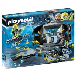 PLAYMOBIL 9250 TOP AGENTS Centrum Dowodzenia Dr. Drone'a