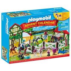 PLAYMOBIL 9262 Kalendarz Adwentowy STADNINA KONI