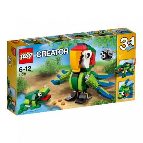LEGO CREATOR 31031 Zwierzęta z Deszczowego Lasu NOWOŚĆ 2015