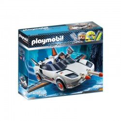 PLAYMOBIL 9252 TOP AGENTS Agent P. i Racer
