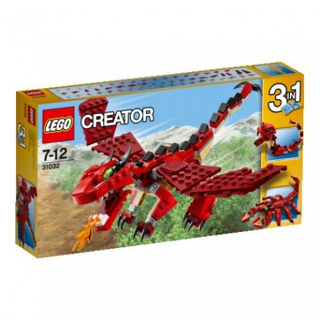 LEGO CREATOR 31032 Czerwone Kreatury NOWOŚĆ 2015