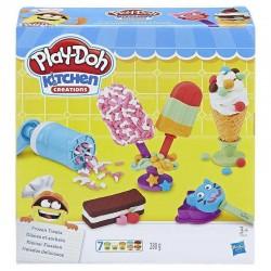 PLAY-DOH Kitchen Creations E0039 - Zestaw Ciastolina i Akcesoria - TOSTER KANAPKOWE KREACJE