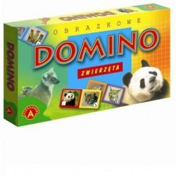 ALEXANDER Domino Obrazkowe ZWIERZĘTA 2058