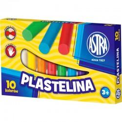 ASTRA 0088 - Masa Plastyczna - Plastelina KWADRATOWA 6 Kolorów