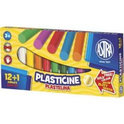 ASTRA 87504 - Masa Plastyczna - Plastelina 13 Kolorów