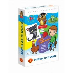 ALEXANDER Zabawka Edukacyjna POWIEM CI CO WIDZĘ 7700